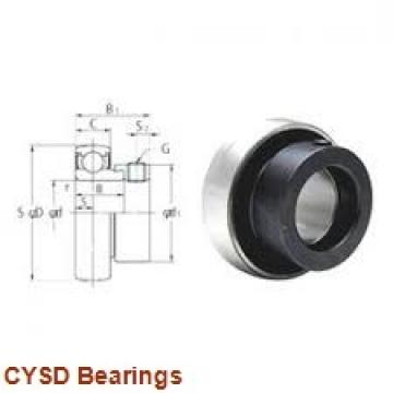 40 mm x 80 mm x 30,2 mm  CYSD W6208-ZZ deep groove ball bearings