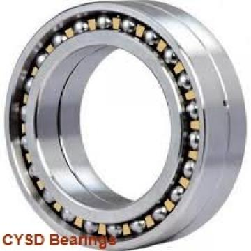 35 mm x 72 mm x 27 mm  CYSD W6207-ZZ deep groove ball bearings