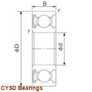 105 mm x 190 mm x 68 mm  CYSD 33221 tapered roller bearings