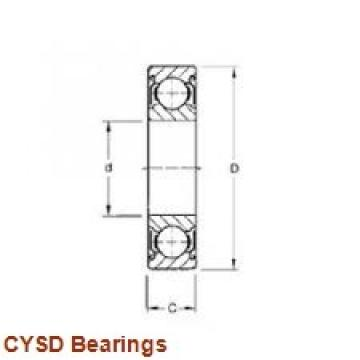 22,225 mm x 47,625 mm x 9,525 mm  CYSD R14 deep groove ball bearings