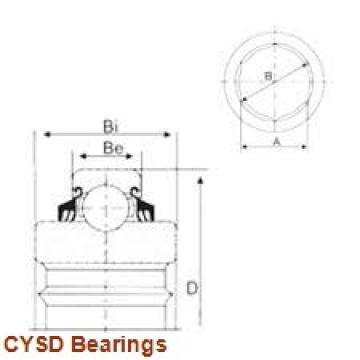 55 mm x 100 mm x 21 mm  CYSD 6211-RS deep groove ball bearings