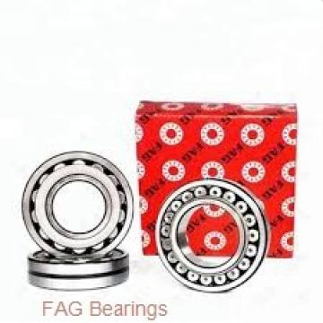 75 mm x 160 mm x 37 mm  FAG QJ315-N2-MPA angular contact ball bearings