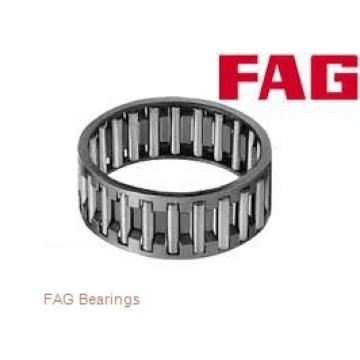 80 mm x 125 mm x 29 mm  FAG 32016-X tapered roller bearings